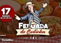 Carlinhos de Jesus realiza mais um edição da melhor feijoada do Rio no Lapa 40°, no próximo sábado (17)