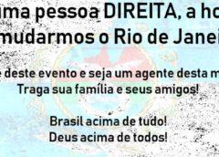 """Evento """"Um Rio de Janeiro Melhor"""" promove debate em prol do Rio"""