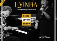 Evinha – show presencial no Teatro Rival Refit