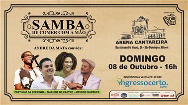 """""""Samba de Comer com a Mão"""", estreia em outubro, dia 08"""