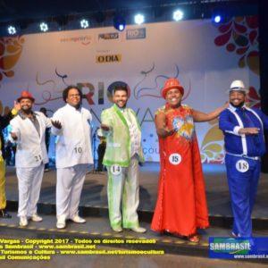 Semifinal do Concurso para Rei Momo do Carnaval Carioca, define os 6 finalistas