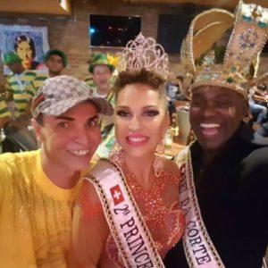 Realeza do samba europeia organiza evento beneficente em favor de famílias carentes brasileiras