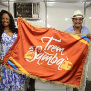 A 22ª Edição do Trem do Samba será́ realizada no dia 2 de dezembro de 2017