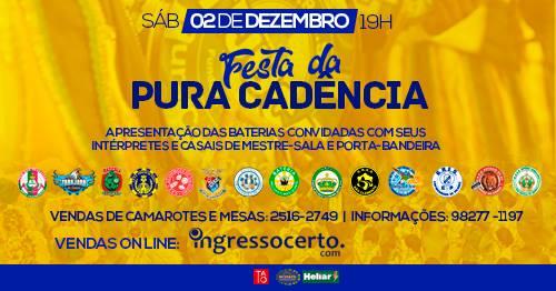 Dia Nacional do Samba tem Festa da Pura Cadência na Unidos da Tijuca