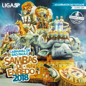 Liga SP compartilha as obras do CD Sambas de Enredo Carnaval SP 2018 em seis plataformas digitais