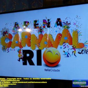 Arena Carnaval Rio é grande novidade e aposta da Riotur no Carnaval Rio 2018