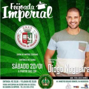 Diogo Nogueira é atração no Império Serrano, neste Feriado de São Sebastião