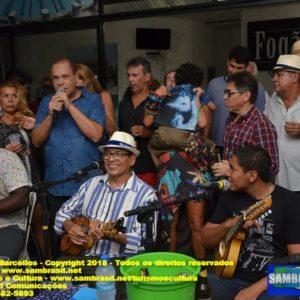 Roda de Samba comandada por Wanderley Monteiro recebeu o compositor Sombra