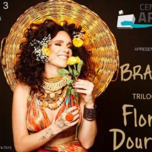 Branka completa sua Trilogia das Flores e faz lançamento no Tetro da UFF em Niterói dia 08/03