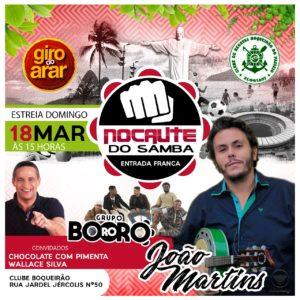 Nocaute do Samba estreia dia 18