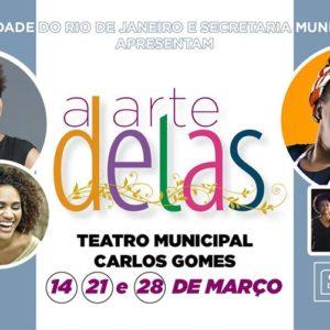 Projeto A ARTE DELAS mescla samba, fotografia e poesia no Teatro Carlos Gomes