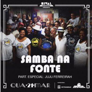 Samba na Fonte comemora 10 anos com o lançamento do CD no Teatro Rival