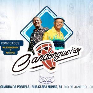 Roda de Samba Candongueiro chega à quadra da Portela
