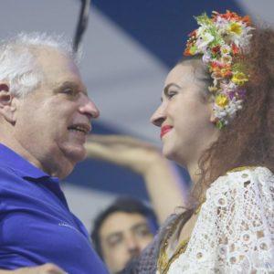 Clara Nunes recebe tributo na festa de lançamento do enredo da Portela 2019