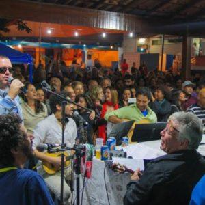 Toninho Geraes e Galocantô juntos no Renascença Clube