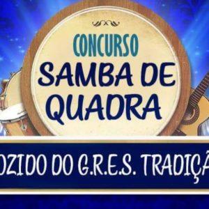 Tradição receberá inscrições para concurso de Samba de Quadra na quinta
