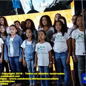 Coral Infantil do Instituto Zeca Pagodinho emociona a Carnavália-Sambacom