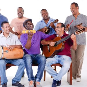Projeto Mercadinho do Samba no Teatro XP Investimentos