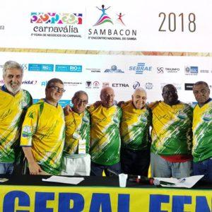 Fenasamba apresentou propostas e planejamento durante a Carnavália-Sambacom