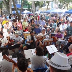 Roda de Choro em Laranjeiras agora é patrimônio cultural do Estado