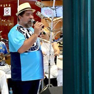 Show Adilson da Vila recebe Paulinho Mocidade no West Shopping