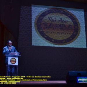 Rádio 94 FM realizou a festa de entrega do Prêmio Vai dar Samba na Sala Cecília Meirelles