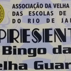 BINGO DA VELHA GUARDA neste domingo (21)