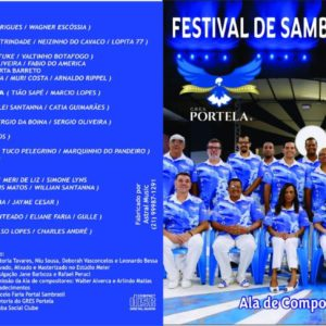 EXCLUSIVO: OUÇA A PLAYLIST DO CD do Festival de Samba de Terreiro da Portela