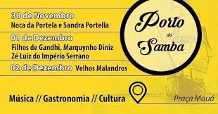 Porto do Samba na Praça Mauá – Música, dança e gastronomia na Zona Portuária do Rio