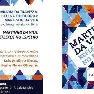 Lançamento do livro Martinho da Vila: reflexos no espelho