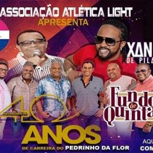 Pedrinho da Flor comemorará 40 anos de carreira no CLUBE DA LIGHT no Grajaú