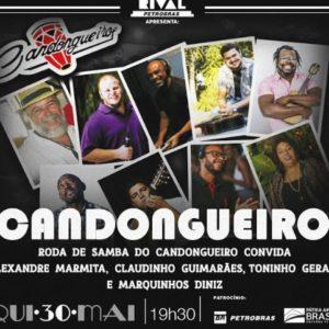 Grupo Candongueiro & Convidados no Teatro Rival