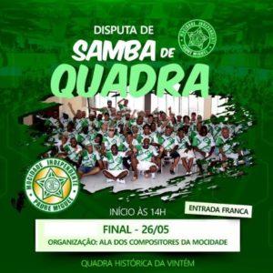 Ala de compositores da Mocidade Independente de Padre Miguel realizará a final do festival de samba de quadra