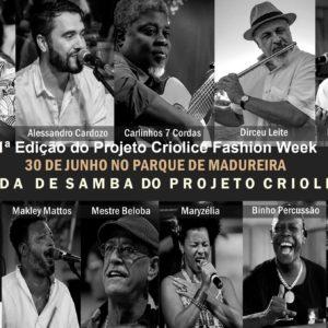 1ª Edição do Projeto Criolice Fashion Week reúne samba, moda, gastronomia e empreendedorismo