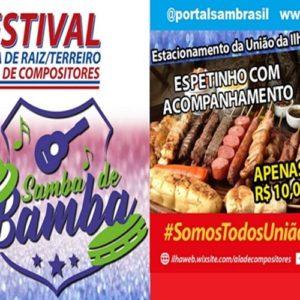 2ª edição do Festival Samba de Raiz/Terreiro terá a primeira apresentação com avaliação dos julgadores