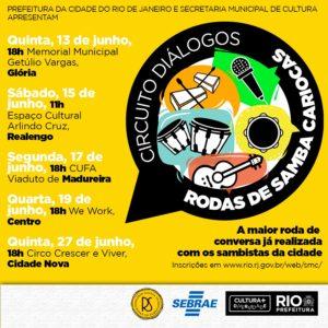 Prefeitura do Rio realiza circuito de diálogos com as rodas de samba cariocas