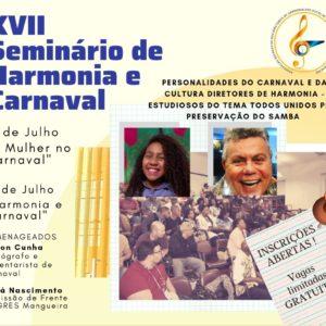 ASSORDHESERJ promove o XVII Seminário de Harmonia e Carnaval