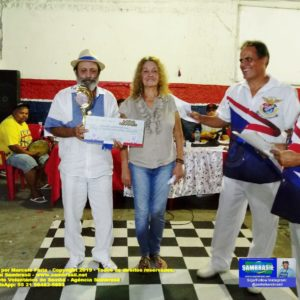 Darcy Maravilha é o vencedor do Festival de Samba de Raiz e Terreiro, na União da Ilha do Governador