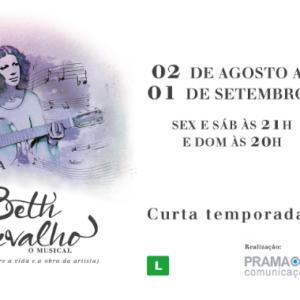 """""""ANDANÇA – Beth Carvalho, o musical"""", reestreia no Rio"""