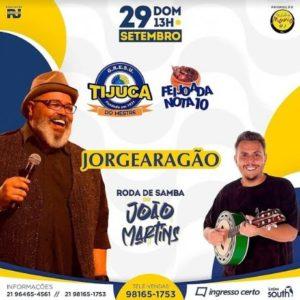 Jorge Aragão é atração da feijoada da Unidos da Tijuca que acontece neste domingo
