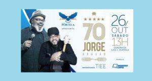 Jorge Aragão comemora setenta anos na Portela com o show Jorge 70