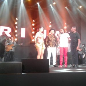 Karinah lança turnê em show com participações de Xande de Pilares, Dudu Nobre e Mumuzinho