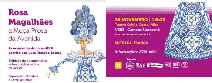 Diletos pares da Confraria do Samba, dia 26 novembro, na UERJ
