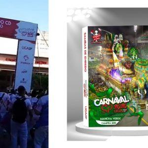 Linda festa organizada pela Liga Independente das Escolas de Samba de São Paulo para o lançamento do CD 2020