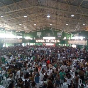 Maria Rita faz seu show Samba da Maria, na Mocidade Independe de Padre Miguel