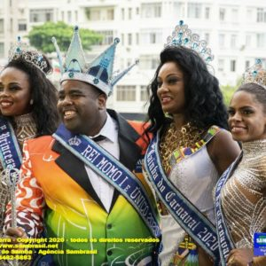Eleita a Corte Real do Carnaval Rio2020 e esta aberta oficialmente a folia carioca