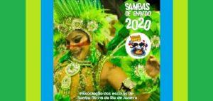Exclusivo: Ouça os Sambas de Enredo 2020 dos GRCESM – Grêmios Recreativos Culturais Escolas de Samba Mirins – Aesm-Rio