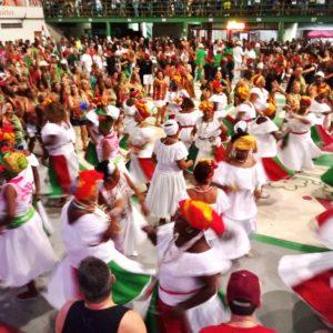 Grande Rio promove a tradicional Festa da Imprensa e realiza ensaio no Dia Nacional de Combate à Intolerância Religiosa