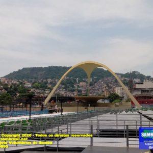 Sambódromo do Rio ainda permanece interditado