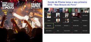 """Xande de Pilares lança o seu primeiro DVD """"Nos Braços do Povo"""""""